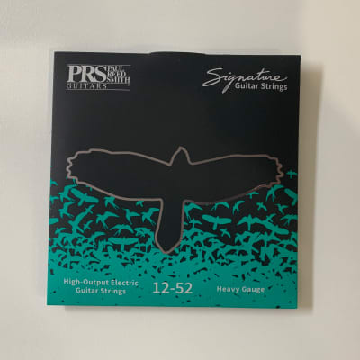 PRS Heavy Gauge 12-52 Signature Guitar Strings High-Output Electric Guitar Strings