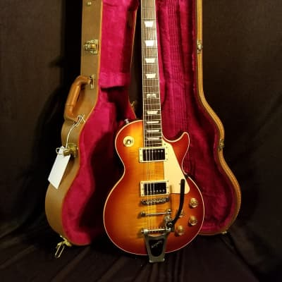 Gibson Les Paul Traditional  2014 Iced Tea Burst  Towner V.Block Bigsby