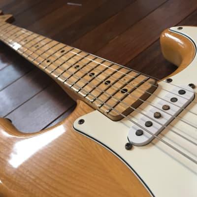 Greco Super Sounds Stratocaster 1977 Original Natural for sale