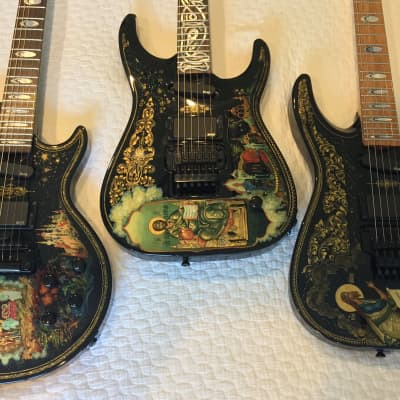 Roscoe Electric Collection,  3 Custom Icon  Guitars, One of a Kind, RARE! for sale
