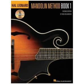 Hal Leonard Mandolin Method: Book 1 with CD