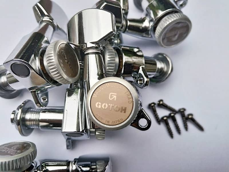 Gotoh Sg381 Mg T Chrome Magnum Lock Traditional Locking Reverb