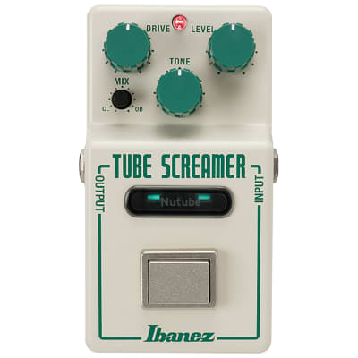 Ibanez NTS Nu Tube Screamer Overdrive Nutube Guitar Effects Pedal w/ True Bypass