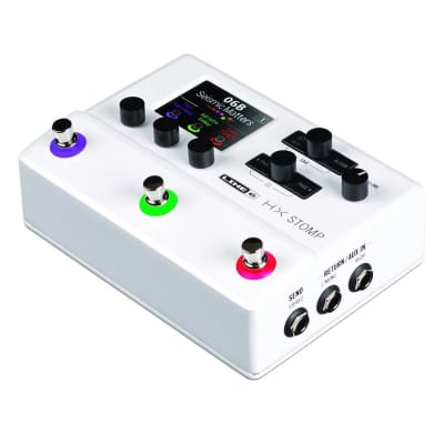 Line 6 Hx Stomp Limited Edition - Stomptrooper White 99060240505