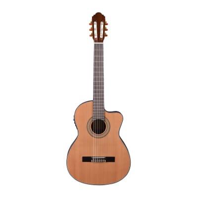 Artist HG39303CEQ Classical Guitar Solid Cedar Top + Cutaway and EQ for sale