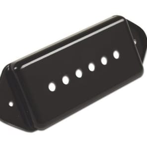 AllParts Gibson Dog Ear Pickup Cover Black for sale
