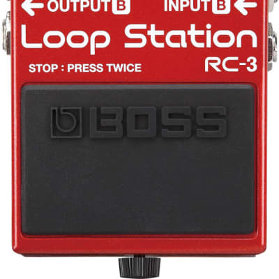 Boss RC-3 Guitar Loop Station Compact Looper Pedal Effect Stompbox with 3 hours Recording Time