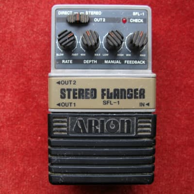 Arion SFL-1 Stereo Flanger Flanger Guitar Effect Pedal for sale