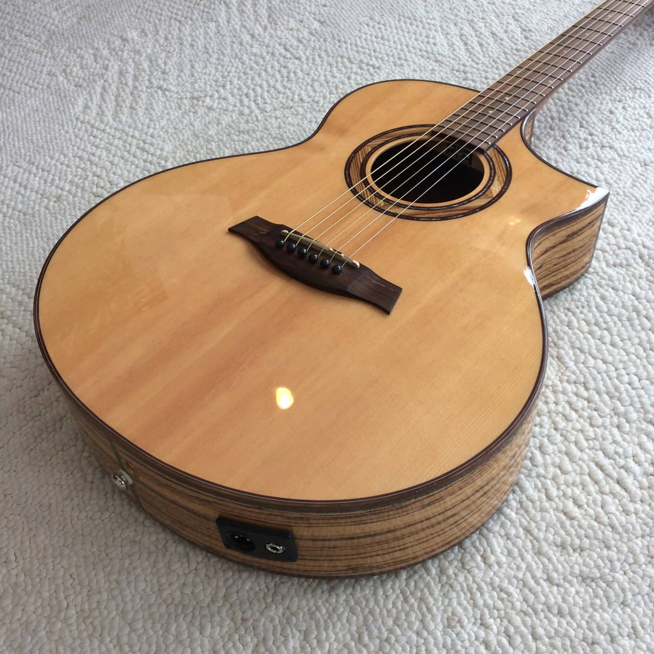 ibanez exotic wood aew23zw nt acoustic electric guitar reverb. Black Bedroom Furniture Sets. Home Design Ideas