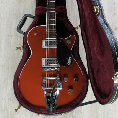 Gretsch G6131T Players Edition Jet FT Electric Guitar Bigsby Firebird Red + Case