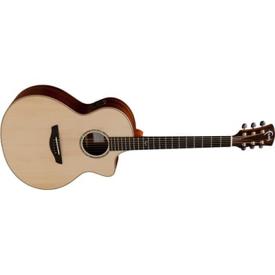 Faith FNCEHG HiGloss Neptune Baby Jumbo Electro Acoustic for sale