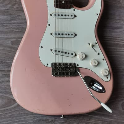 Haar S Model Shell Pink Relic 2021 Amber Pick-ups with COA & Bag for sale