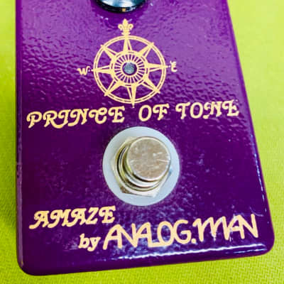 Analogman Prince of Tone Overdrive Pedal - FREE SHIPPING!! for sale