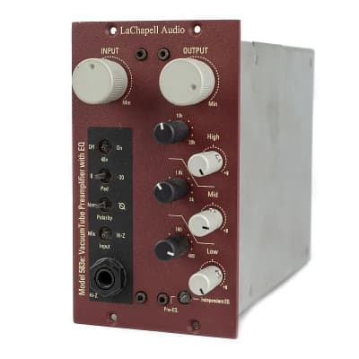 LaChapell Audio 583e 500 Series Vacuum Tube Preamplifier with EQ