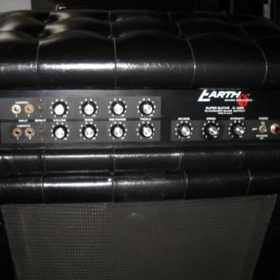 Earth Sound Research G-2000 Super Guitar 1973 Black  /w/ 2x15 Cab-- Mullard Tubes, New Caps for sale