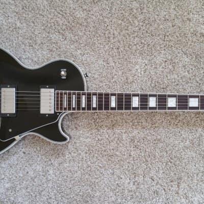 2012 Gibson Les Paul Classic Custom AGED Ebony Chrome Baked Maple 57 Classic + for sale