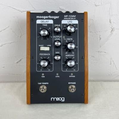 Moog MF-104M MoogerFooger Delay Black for sale