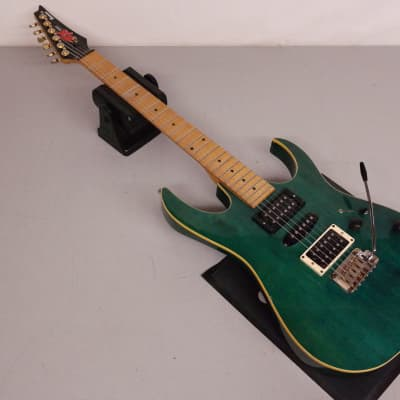 Ibanez EX-1700 Electric Guitar Transparent Turquoise for sale