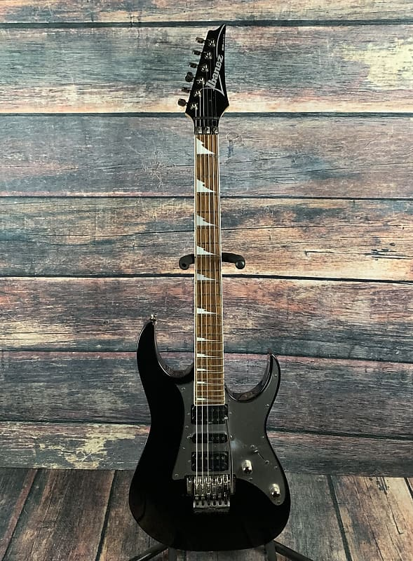 used ibanez rg350ex hsh electric guitar gloss black reverb. Black Bedroom Furniture Sets. Home Design Ideas