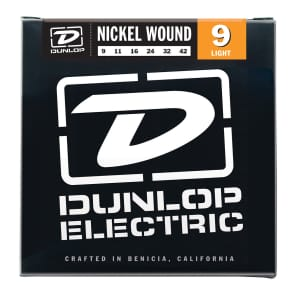 Dunlop DEK0942 Pure Nickel Electric Guitar Strings - Light (9-42)