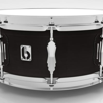 "British Drum Co. 14 x 6.5"" Legend snare, cold-pressed birch shell, Kensington Knight"