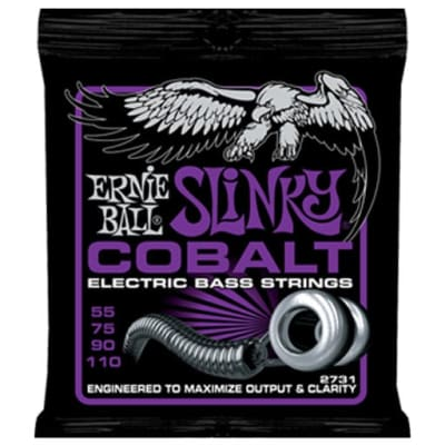 Ernie Ball 2731 Cobalt Power Slinky Bass Strings
