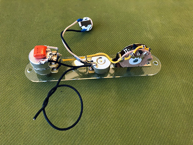 prewired telecaster w tbx tone control wiring harness reverb. Black Bedroom Furniture Sets. Home Design Ideas