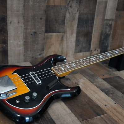 Heit Deluxe Bass 1960s Sunburst Made in Japan MIJ Vintage Short Scale for sale