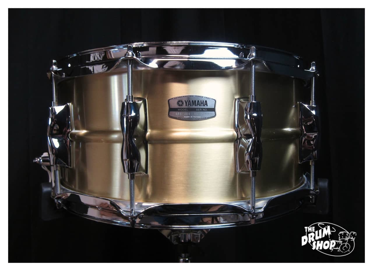 Yamaha recording custom brass snare drum reverb for Yamaha stage custom steel snare drum 14x6 5