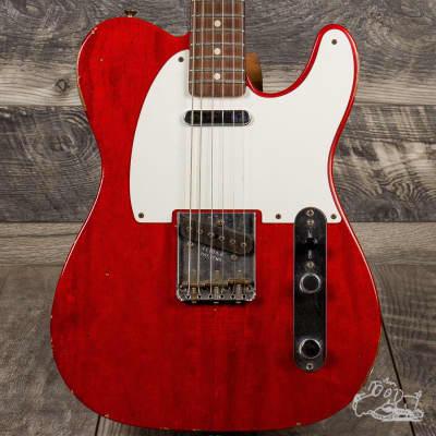 2015 Fender Custom Shop Yuriy Shishkov Masterbuilt 60's Empress Relic Telecaster, 5 LBS!!! - Make Us for sale
