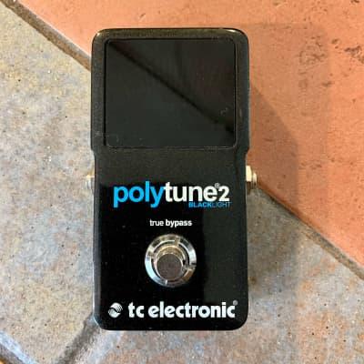 TC Electronic Polytune 2 Blacklight Polyphonic Tuner Pedal