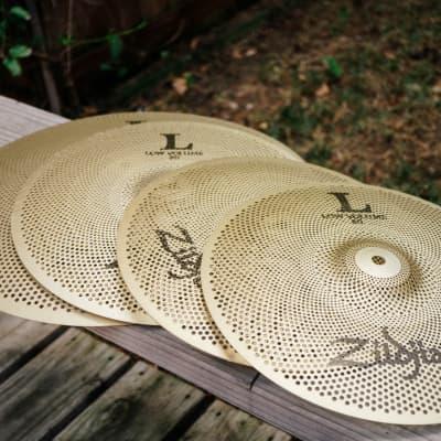 "Zildjian LV348 L80 Low Volume 13"" / 14"" / 18"" Cymbal Pack"