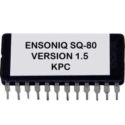 Ensoniq SQ-80 - Keyscan Versione 1.5 Update Firmware [Latest Kpc OS ] For SQ80