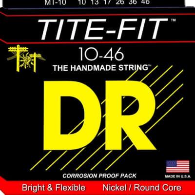 DR Strings-  MT-10,  nickel/round wound, 10-46