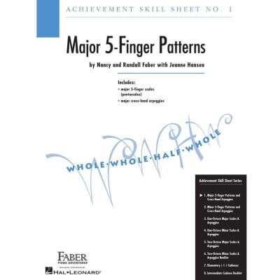 Achievement Skill Sheet No. 1: Major 5-Finger Patterns