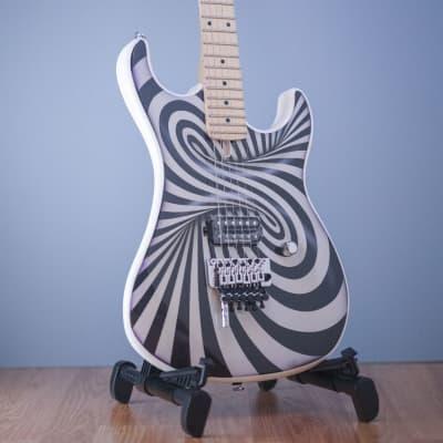 Kramer Illusionist The 84 3D Black White Swirl D-Tuna for sale