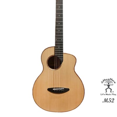 aNueNue M52 Solid Sitka Spruce & Acacia Koa  Acoustic Future Sugita Kenji design Travel Size Guitar for sale
