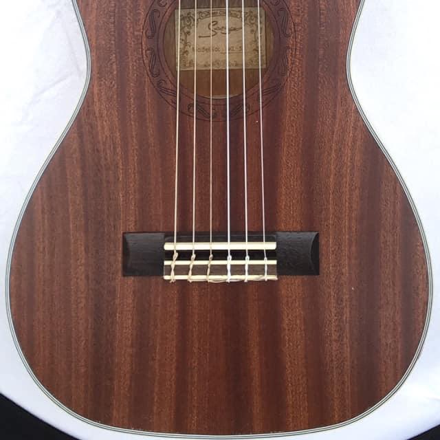 Smiger GKL30 Western Sapele Guitarlele 6 string guitar ukulele hybrid - Sapele image