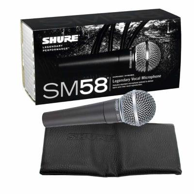 Shure SM58 Multi-Purpose DJ Event Vocal Performance Microphone