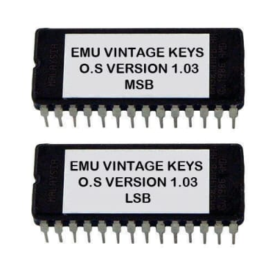 E-mu Vintage Keys Version 1.03 firmware latest OS update