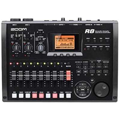 Zoom R8 Multitrack SD Recorder and Interface