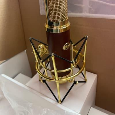 Blue Woodpecker Microphone