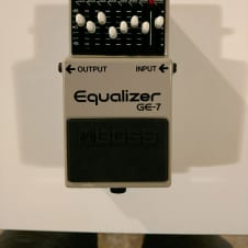 Boss GE-7 Graphic EQ (Rare, Made in Japan!)