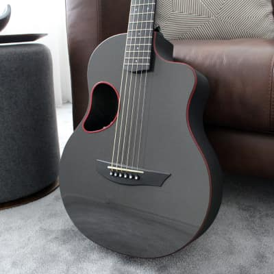 McPherson Touring Carbon Fiber Acoustic Guitar in Red for sale