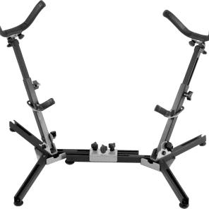 Hamilton KB7022 System X Double Alto/Tenor Sax Stand