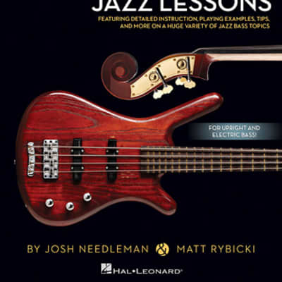 Hal Leonard Bass Lesson Goldmine 100 Jazz Lessons Book
