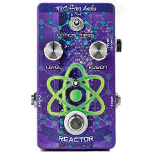 McCaffrey Audio Reactor Boost Compressor Guitar Effects Pedal