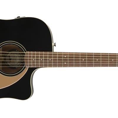 Fender California Series Redondo Player Left-Handed Jetty Black