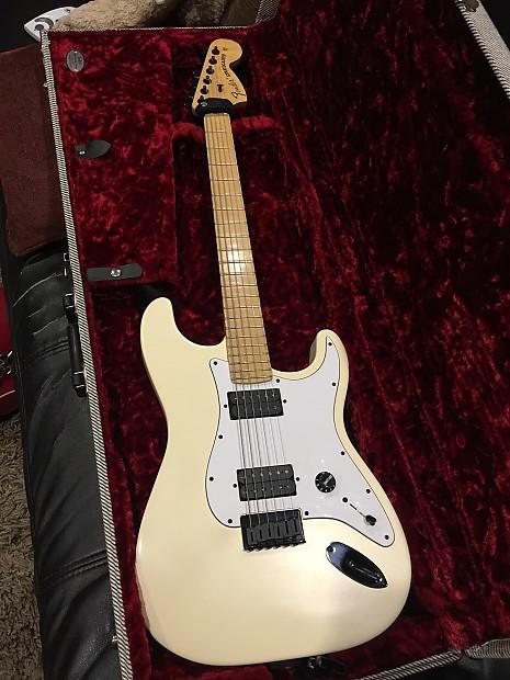 Fender USA Jim Root Stratocaster Aged White | Reverb