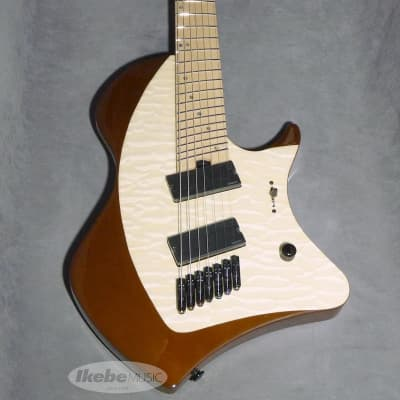 Abasi Guitars Abasi Concepts Larada J7 5A Quilted Maple (Natural/Maple) -Outlet Special Price- for sale